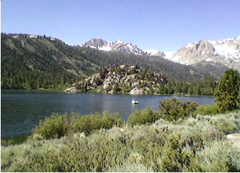 June lake camping with hookups